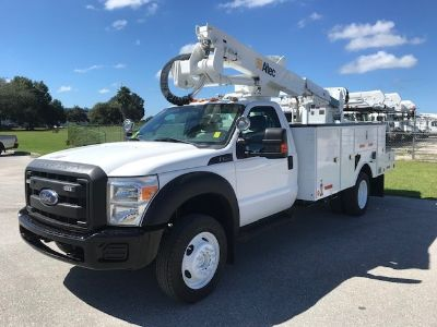 2013 Ford F550 Tool Body (White)