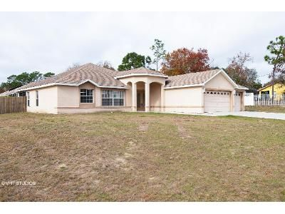 4 Bed 2 Bath Foreclosure Property in Spring Hill, FL 34608 - Courtland Rd