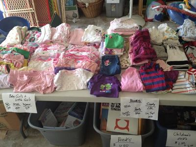 Huge Garage Sale Blowout Prices