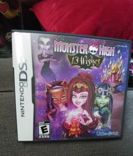 MH 13 Wishes Nintendo DS Game