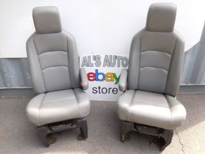 Sell 97-10 FORD ECONOLINE VAN GREY GRAY VINYL SEATS WORK VAN SEATS E150 E250 SEATS motorcycle in Feasterville-Trevose, Pennsylvania, United States, for US $499.99
