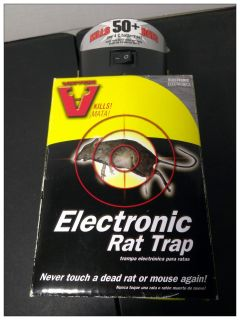 New - Victor M240 Electronic Rat Trap