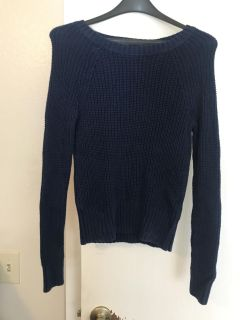 Navy blue American Eagle sweater