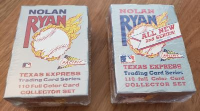 New in Package - Nolan Ryan Trading Card Collectors Set