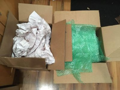 FREE packing material
