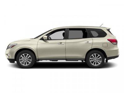 2014 Nissan Pathfinder S (Moonlight White)