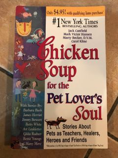 Chicken Soup for the Pet Lover s Soul
