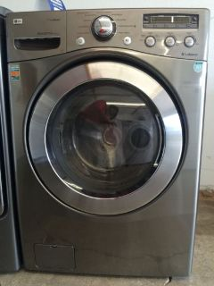 LG Front Load Washer in Graphite Steel