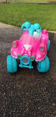 Minnie Mouse Power Wheel 4 Wheeler