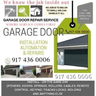 ALWAYS PROFESSIONAL AND ALWAYS RELIABLE ==GARAGE DOOR REPAIR AND INSTALLATION SERVICE ==NEW YORK