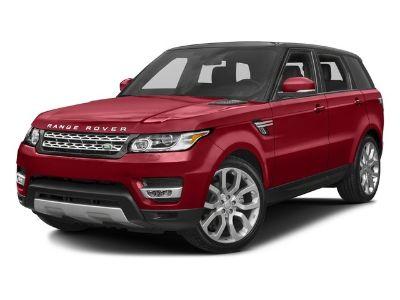2016 Land Rover Range Rover Sport SE (Gray)