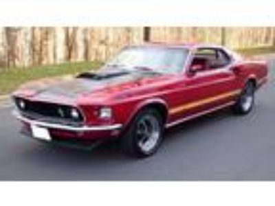 1969 Ford Mustang Royal Maroon