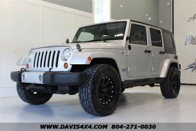 2008 Jeep Wrangler Unlimited Sahara (Silver)