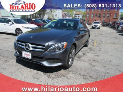 2015 Mercedes-Benz C-Class 4dr Sdn C300 4MATIC (Steel Gray Metallic)