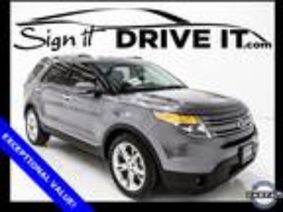 2014 Ford Explorer Limited - BACKUP CAMERA! - BLUETOOTH! - LEATHER SEATS!