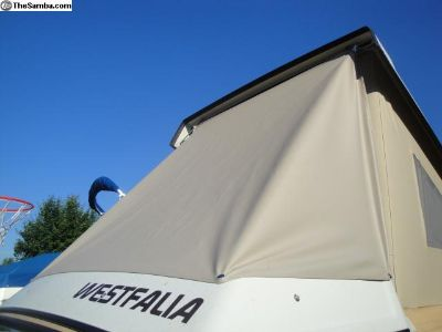 Rainfly with Wings 80-91 Vanagon Snap on Style