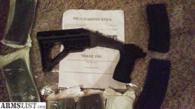 For Sale/Trade: AR-15 b.f.s.