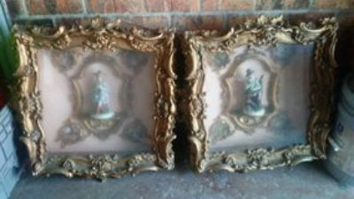 antique shadow boxes