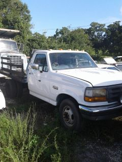 1997 FORD F350 FLAT BED