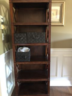 Almost new - Wooden shelf