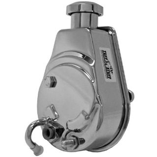 Buy Tuff Stuff 6174A GM Saginaw Power Steering Pump Chrome Keyway Style motorcycle in Suitland, Maryland, US, for US $161.83