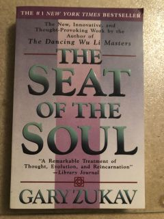 2 books by Gary Zukav - The Seat of the Soul & Soul Stories