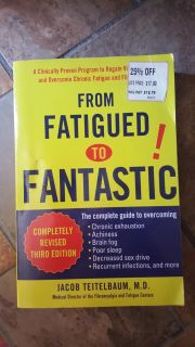 From fatigued to Fantastic book