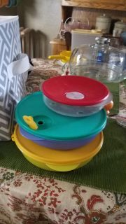 Tupperware microwave containers