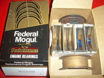 Buy 7073M-STD FEDERAL MOGUL Performance Main Bearings 260 289 302 V8 FORD MERCURY motorcycle in Wylie, Texas, United States, for US $24.99