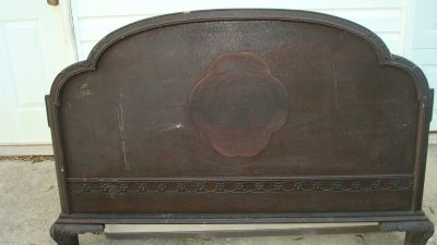 Antique Headboard/footboard