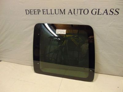 Sell New right rear glass window 1998-2014 Ford Econoline Van passenger rear door motorcycle in Dallas, Texas, United States, for US $59.00