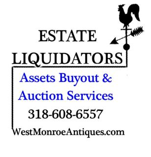 Estate Sale Buyout offered by Estate Liquidators