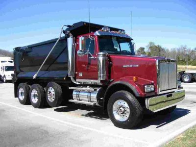 Dump truck financing - Simple application - All credit types