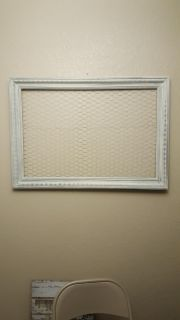 Large Picture Frame with chicken wire