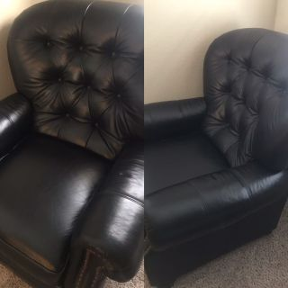 2 Beautiful Leather Recliners