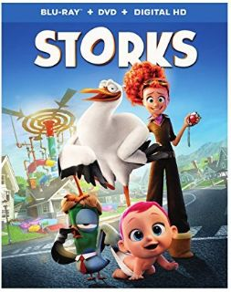 #6432 STORKS THE MOVIE BLU RAY