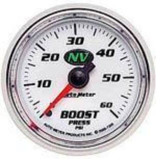 Sell Autometer NV Series-Boost Gauge 2-1/16 mechanical full sweep 60 psi 7305 motorcycle in Winchester, KY, US, for US $72.07