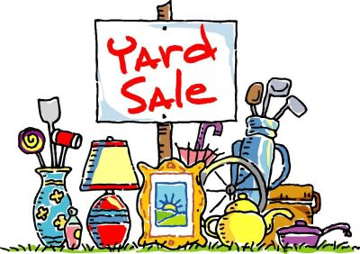 Yard Sale Sat. 9/22 9-3 (21 Clovervale Lane)
