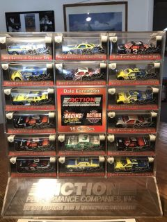 Earnhardt 1:64 scale car collection