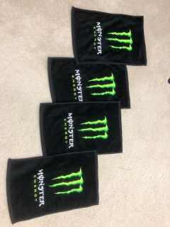 Monster Energy Small towels