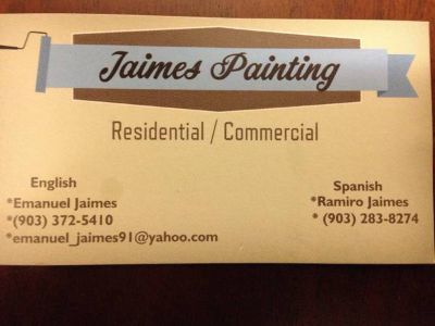 Residential Commercial Painting (East Texas)