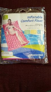 New in package PINK FLOAT