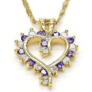New! 14k Gold Filled Classic Open Heart Necklace