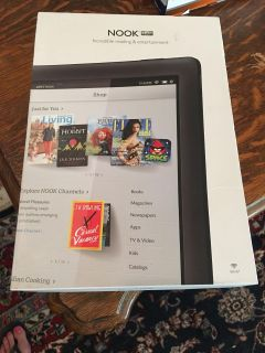 Barnes and noble Nook hd new with screen protector but lost manual.