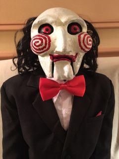 Billy the Puppet lifesize Jigsaw Halloween puppet from Saw