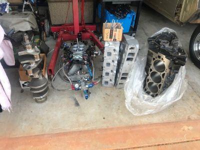 BBC 548 Engine Parts w/ NOS
