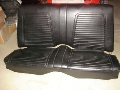 "Sell 1967 1968 1969 CAMARO RS SS Z-28 ORIGINAL SURVIVOR REAR SEAT BLACK ""EXCELLENT"" motorcycle in Louisville, Ohio, United States, for US $699.99"