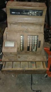 Antique cash register. STILL WORKS. Extremely heavy-will need 2 person to carry