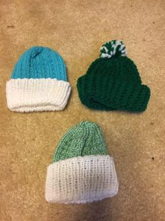 Premie or doll hats