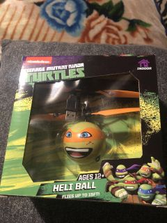 New never open Heli Ball flies up to 15 ft. $5. Avery Park